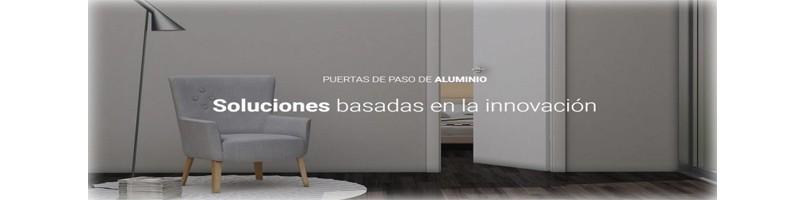 PUERTAS DE PASO DE INTERIOR DE ALUMINIO